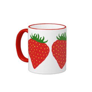 Simply Strawberry custom mug - choose style