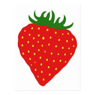Simply Strawberry custom postcard