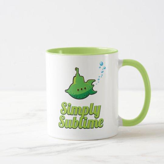 Simply Sublime. Mug