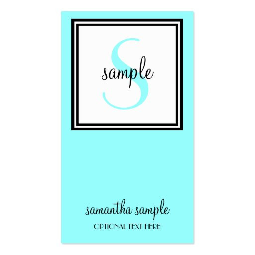Simply successful business card zazzle for Successful business cards