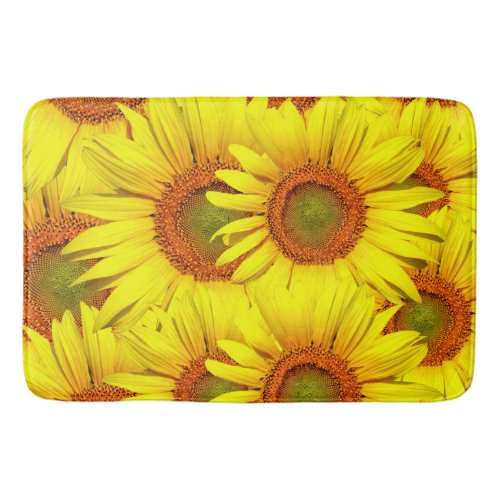 Simply Sunflowers Bathroom Mat