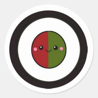 Simply Sushi Classic Round Sticker