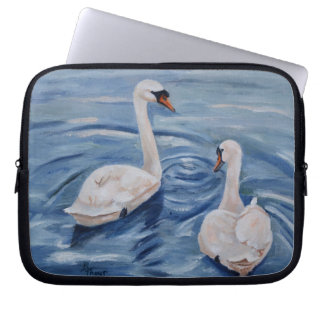 Simply Swans Laptop Sleeve