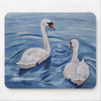 Simply Swans Mousepad