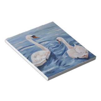 Simply Swans Notepad
