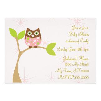 Simply Sweet Baby Owl Card