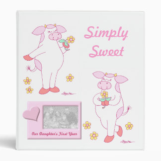 Simply Sweet Baby's First Year Binders