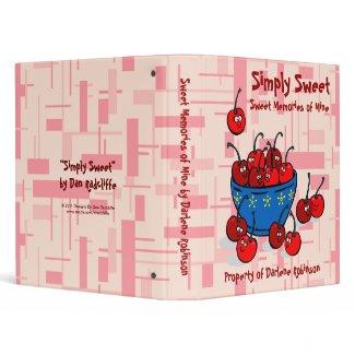 Simply Sweet zazzle_binder