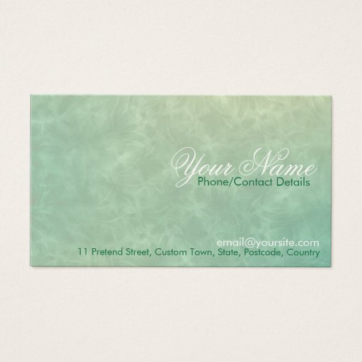 Simply Sweet Business Card