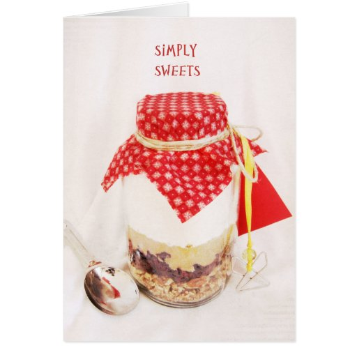 Simply Sweets Card