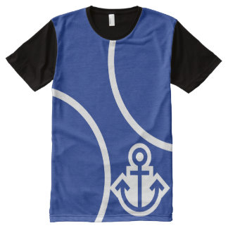 Simply Symbols - ANCHOR + your ideas All-Over Print Shirt