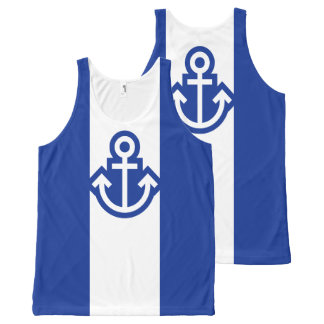 Simply Symbols - ANCHOR + your ideas All-Over Print Tank Top