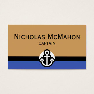 Simply Symbols - ANCHOR + your text & ideas Business Card