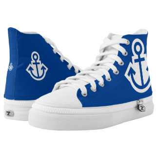 Simply Symbols - ANCHOR + your text & ideas Printed Shoes