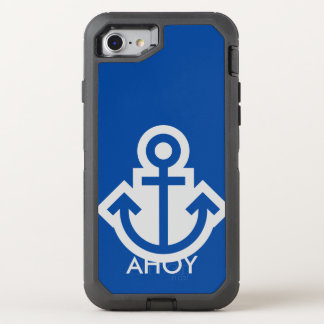Simply Symbols / Icons - ANCHOR + ideas OtterBox Defender iPhone 7 Case