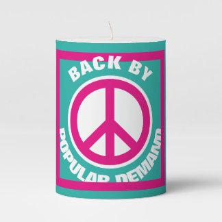 Simply Symbols / Icons - PEACE + ideas Pillar Candle