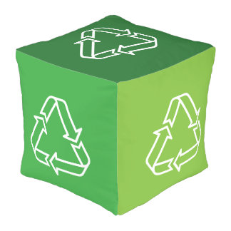 Simply Symbols / Icons - RECYCLING + ideas Outdoor Pouf