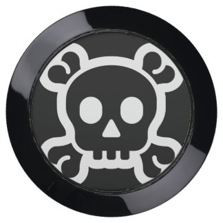Simply Symbols - SKULL & BONES + your ideas USB Charging Station