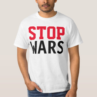 "Simply text design ""STOP WARS"" T-Shirt"
