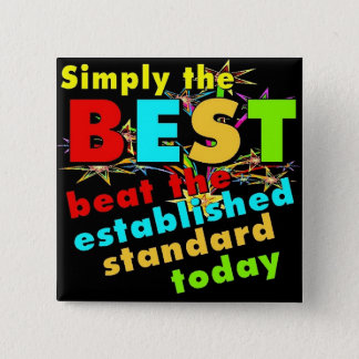 Simply the Best Pinback Button