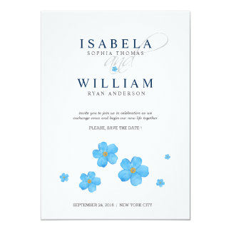 Simply Timeless Designed Save the Date Card
