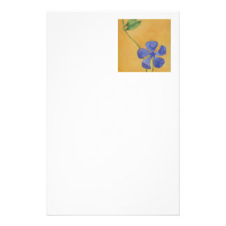 """""""Simply Vinca"""" Floral Stationery"""