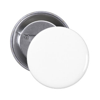 Simply White Solid Color Personalize It Custom Button