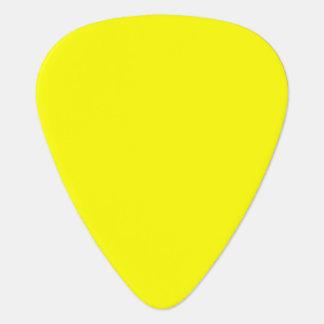 Simply Yellow Guitar Pick