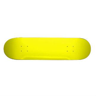 Simply Yellow Skate Board