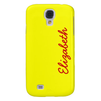 Simply Yellow Solid Color Galaxy S4 Case