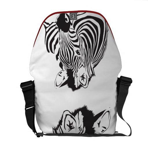 Simply Zebra  Rickshaw Courier Bag
