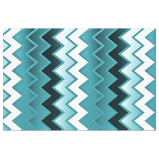 Simply ZigZag - Teal Tissue Paper
