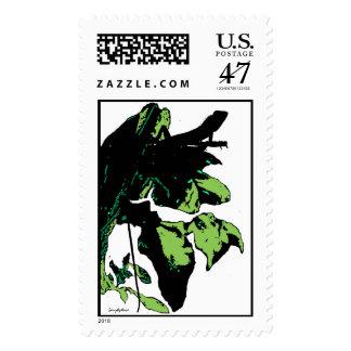 Simplydone Lounge Lizard Garden Stamp