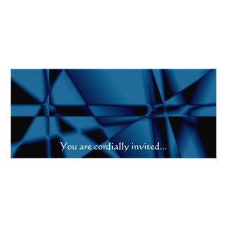 "SimplyTonjia Abstract ""Blue Tinsel""  Invitation"