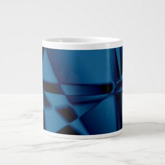 SimplyTonjia Blue Tinsel  Jumbo Specialty Mugs