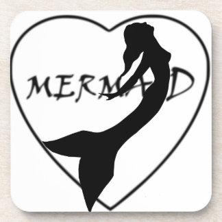 SimplyTonjia Mermaid Love Cork Coaster