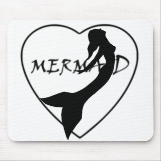 SimplyTonjia Mermaid Love Mouse Pad