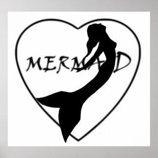 SimplyTonjia Mermaid Love Poster