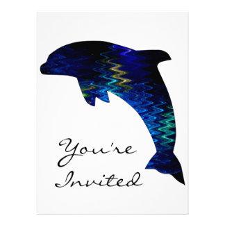 SimplyTonjia Venetian Dolphin Invitation