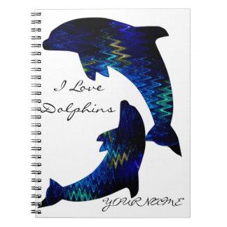SimplyTonjia Venetian Dolphin Notebook