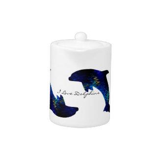 SimplyTonjia Venitian Dolphin Tea Pot