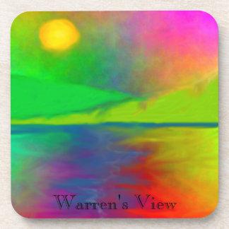 SimplyTonjia Warren's View Cork Coasters