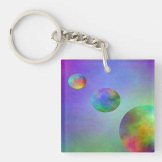 SimplyTonjia Way of the Moon Acrylic Key Chain