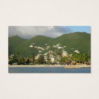 Simpson Bay St. Maarten Business Card