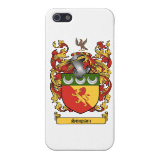 Simpson Crest - Coat of Arms Case For iPhone SE/5/5s