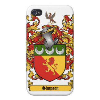 Simpson Crest - Coat of Arms cover