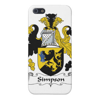 Simpson Family Crest iPhone SE/5/5s Case