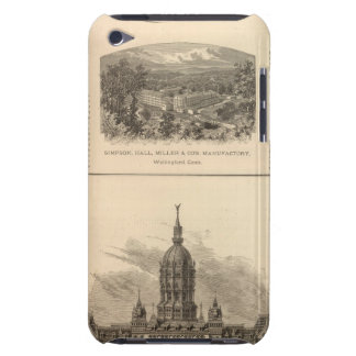 Simpson, Hall, Miller and Traveler's Company iPod Touch Covers