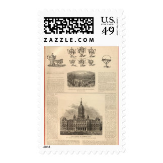 Simpson, Hall, Miller and Traveler's Company Postage
