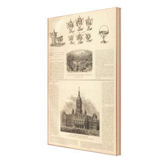 Simpson, Hall, Miller y Company de Traveler's Lienzo Envuelto Para Galerías